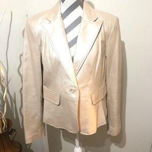 Worthington Pearl Genuine Leather Jacket size XL
